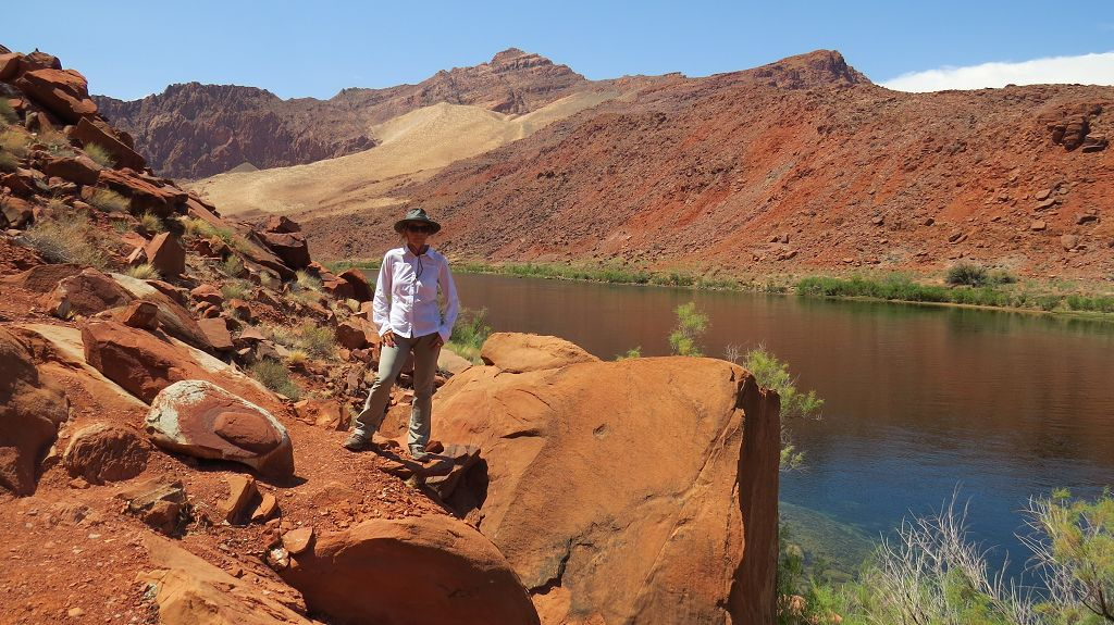 Wandern am Colorado River