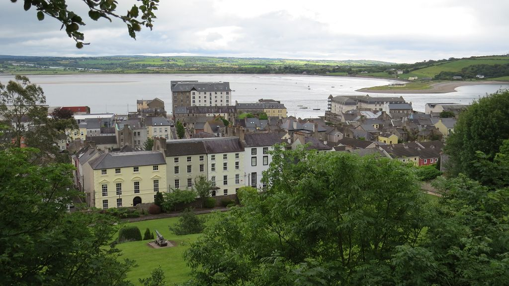 Blick auf Youghal