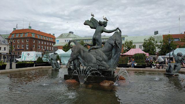 Halmstad, Milles-Brunnen