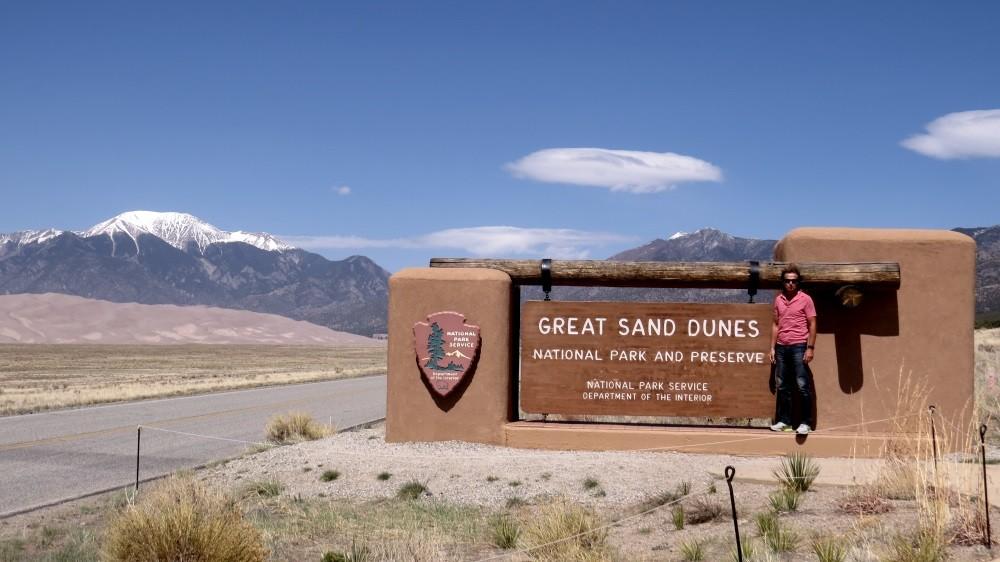 Wir erreichen die Great Sand Dunes