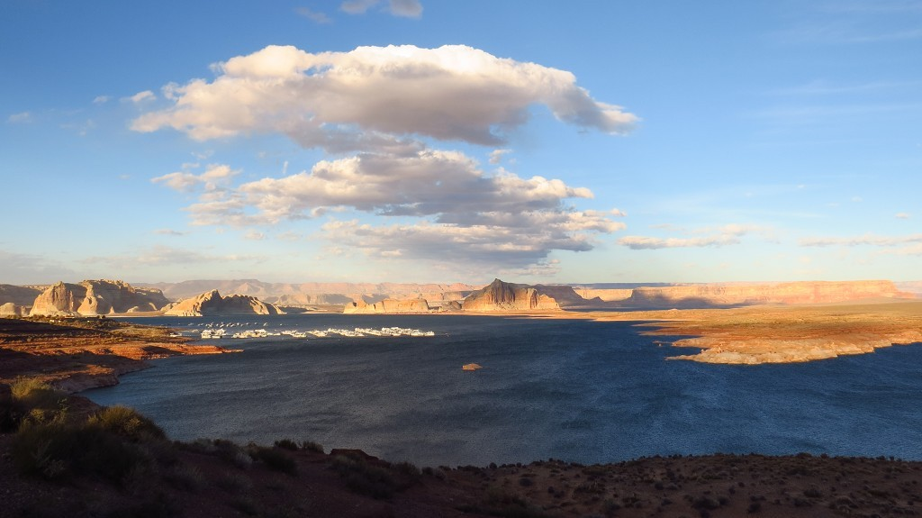 zum Lake Powell.