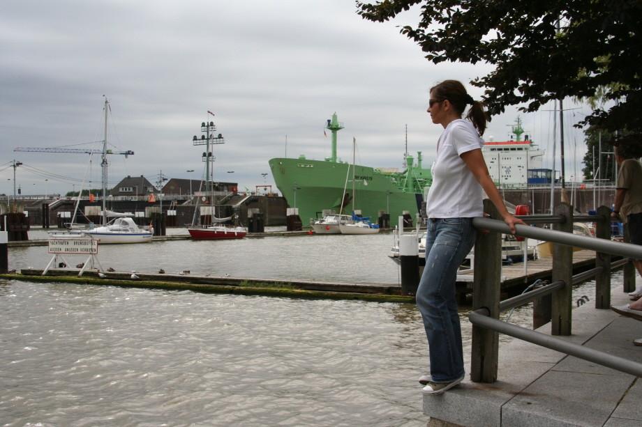 Einfahrt in den Nord-Ostsee-Kanal