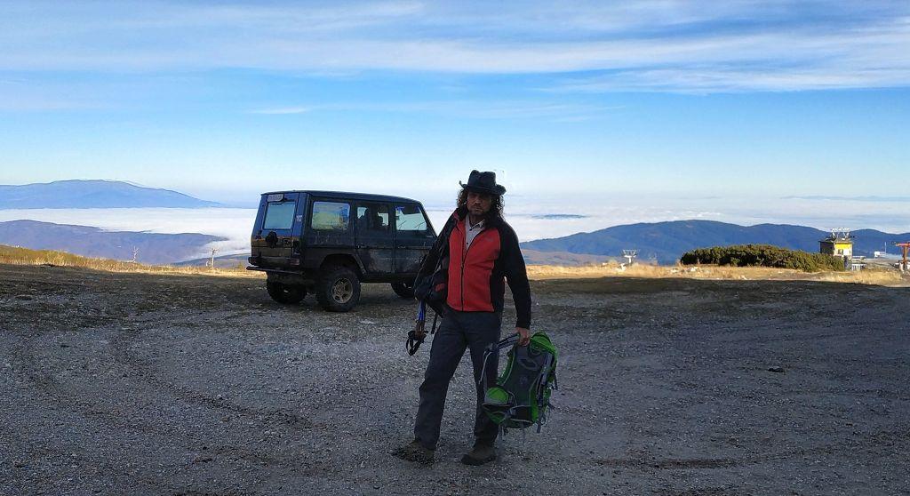 Mit dem Jeep zur Bergstation
