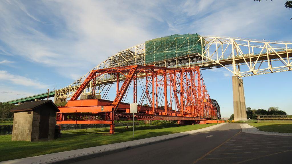 Historische Schleuse in Sault Ste. Marie