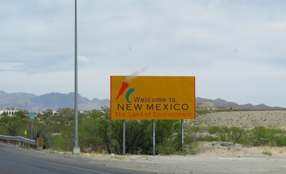 Wir erreichen New Mexico