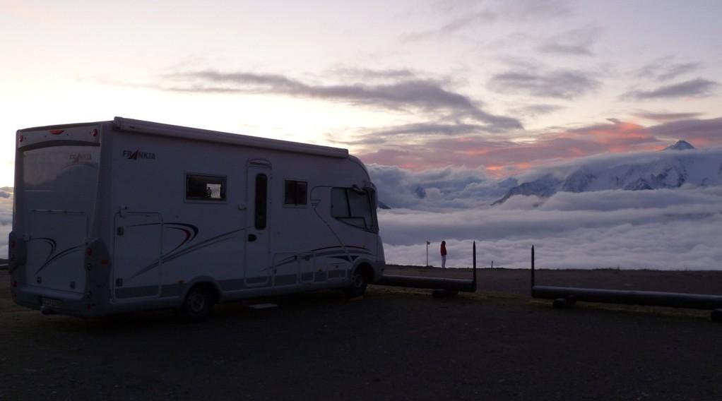 Morgenstimmung auf 2000 m