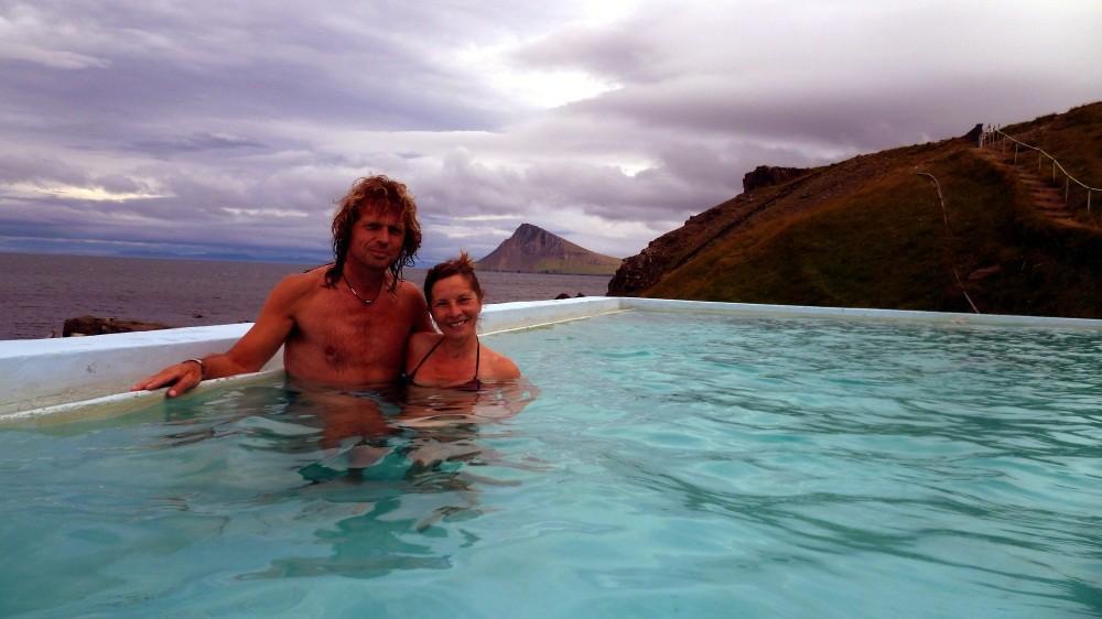 """Nach 90 km erreichen wir die """"Badewanne"""" von Krossnes"""