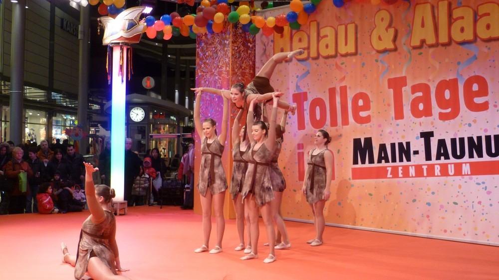 Hanna bei einer Vorführung in Frankfurt