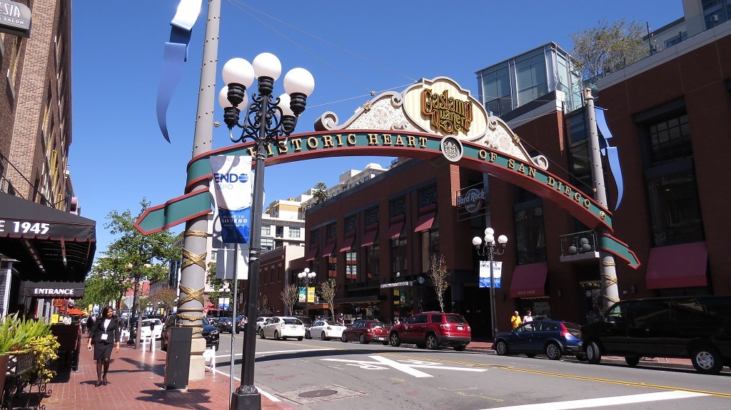 Bummel durch's Gaslamp Quartier