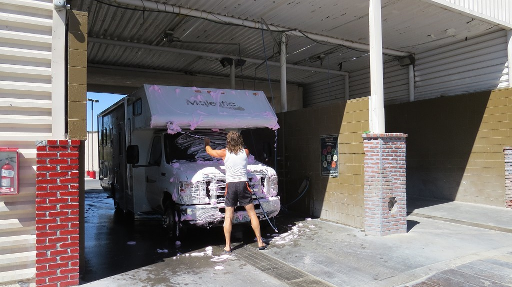 Car-Wash...es geht in die City