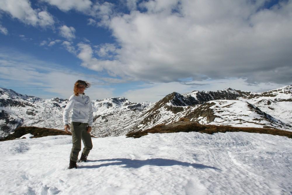 Wanderung im Schnee...