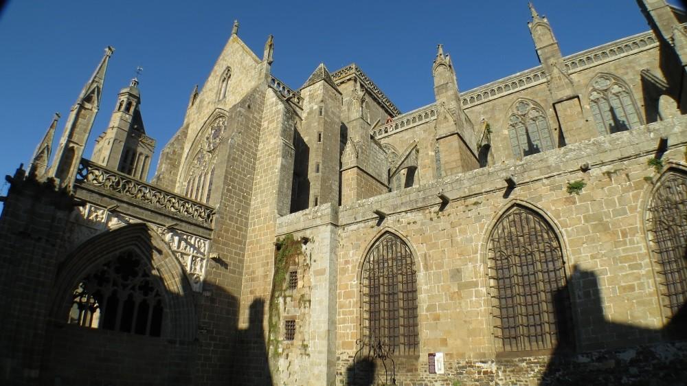 Kathedrale in Dol-de-Bretagne