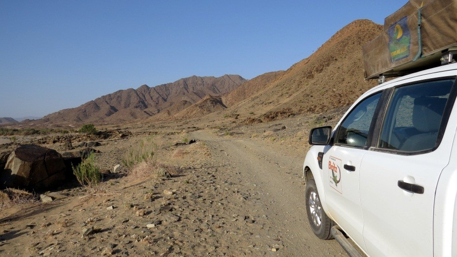 Unterwegs im Richtersveld-Nationalpark