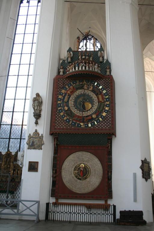 Die berühmte astronomische Uhr