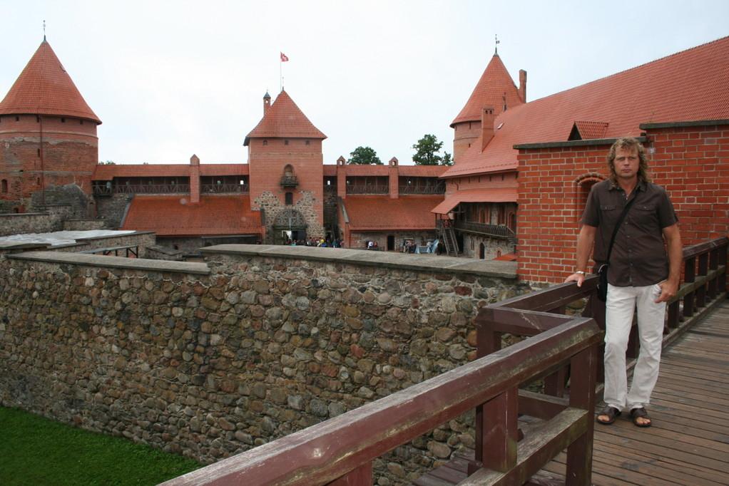 Innerhalb der Burgmauern