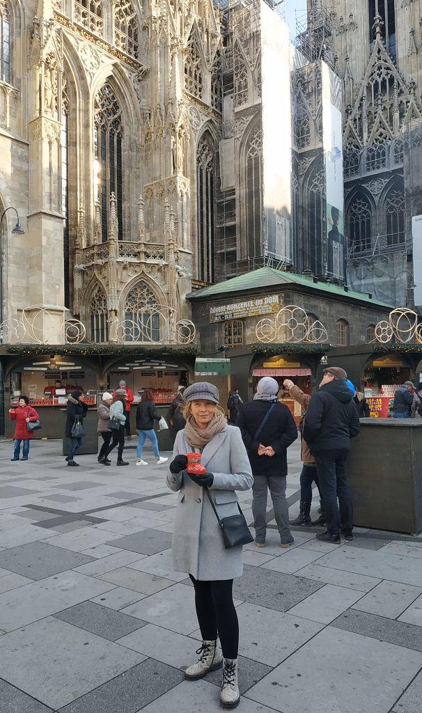 Erster Glühwein in Wien...