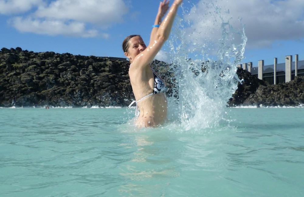 Schwimmen...