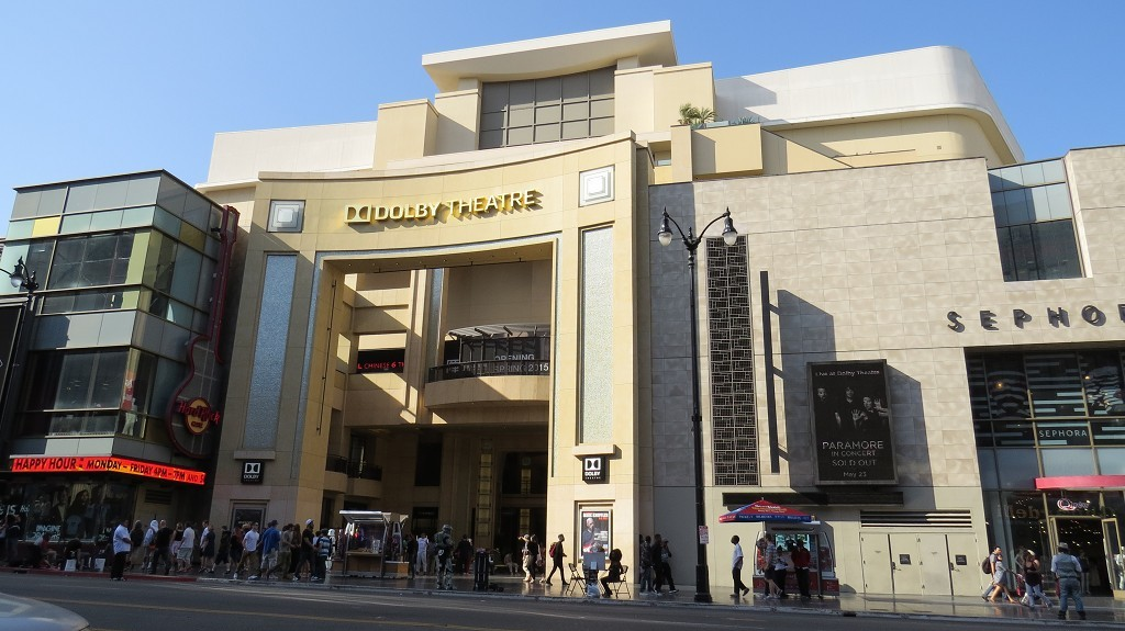 Dolby Theater. Hier gibt es die Oscars.
