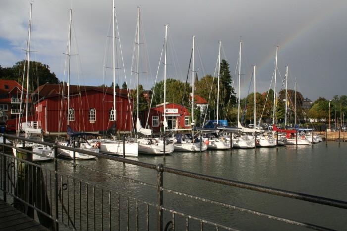 Regenbogen in Eckernförde