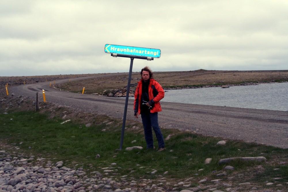 Hier geht's zum nördlichsten Punkt Islands...