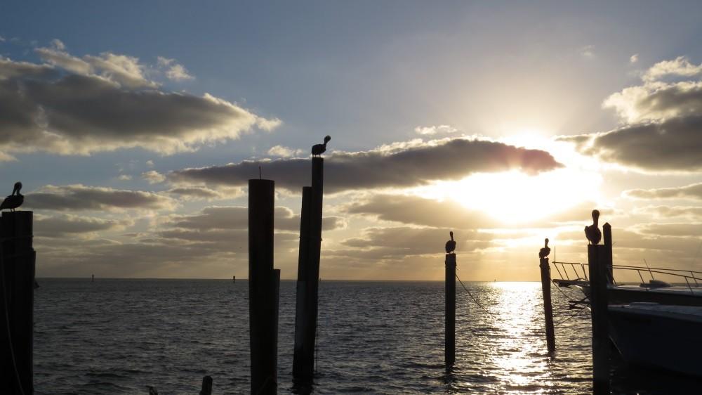 Sonnenaufgang über den Keys