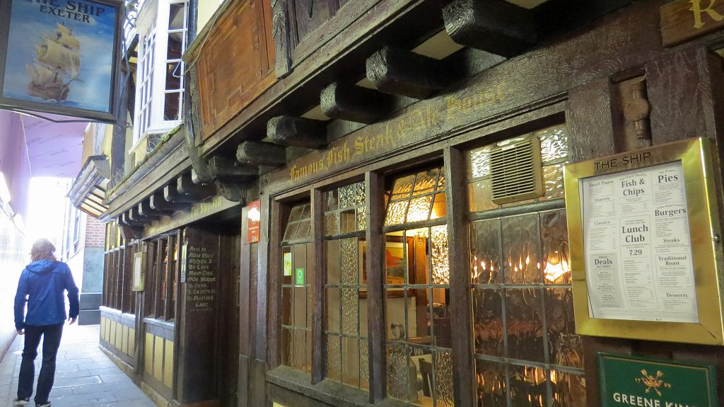 Ship Inn - Hier war Sir Francis Drake (1540-1596) Stammgast