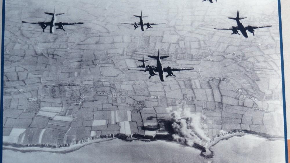 Die Alliierten über Pointe du Hoc