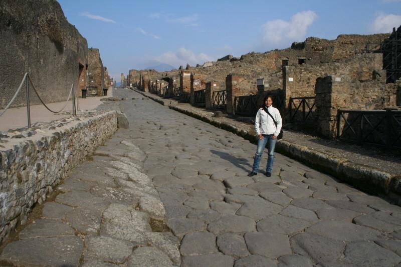 Pompei, Via Stabiana