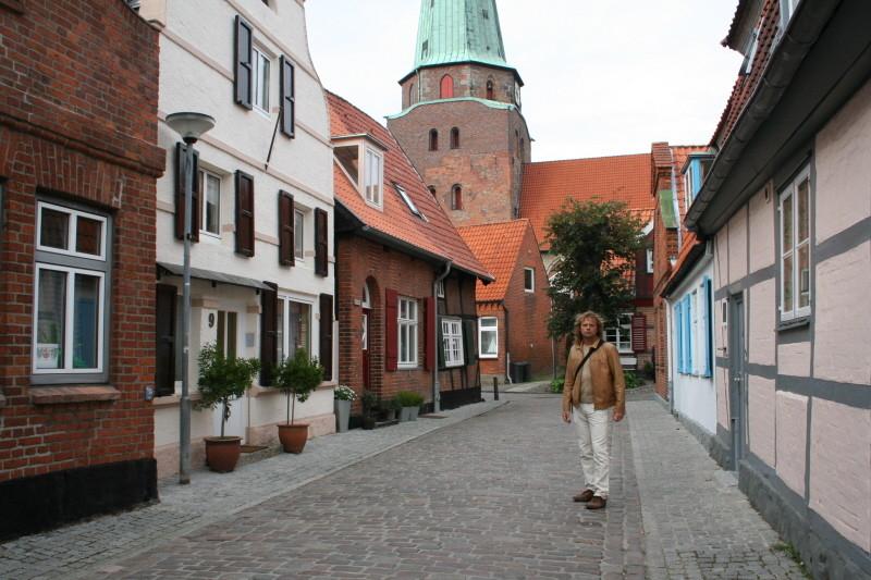 Altstadtgassen in Travemünde