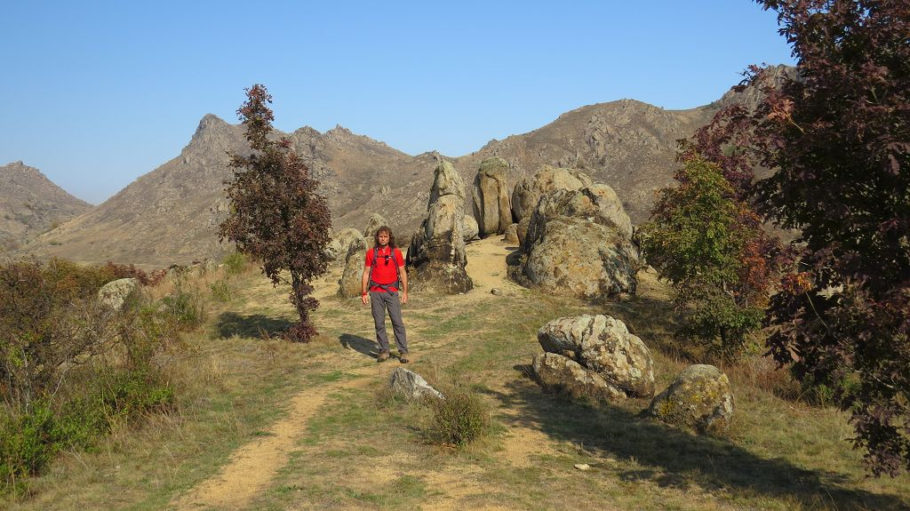 Wandern im Nationalpark Muntii Macinului