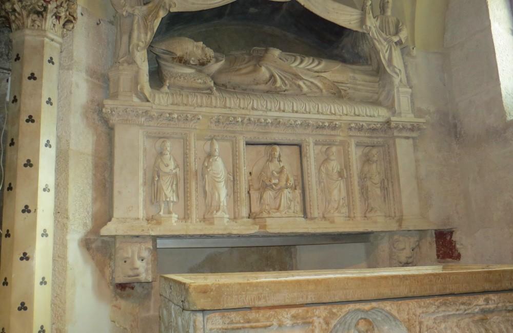 Im Mausoleum (heute Kathedrale) des Diokletans