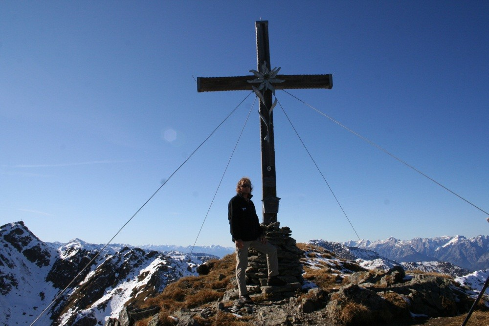 ...Wimbachkopf auf 2442 m