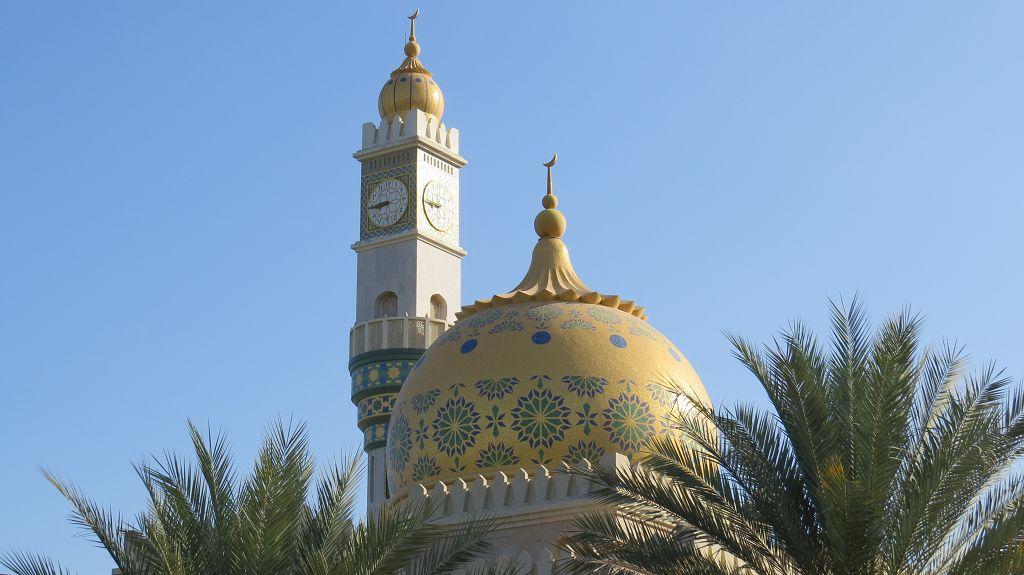 Muscat, hier die Zawawi Moschee