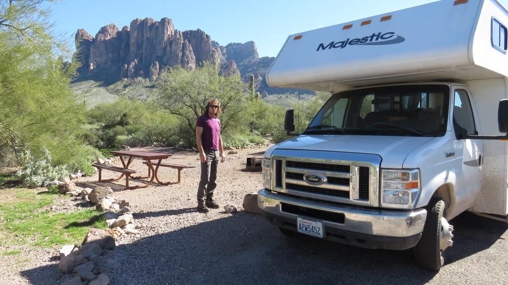 Lost Dutchman State Park, Arizona