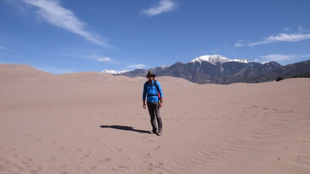 Auf dem Weg zur High Dune