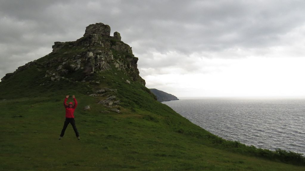 Wir wandern den Valley of Rocks Trail...