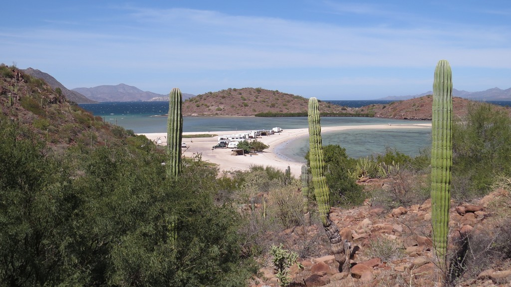 Blick zum Beach-Camping
