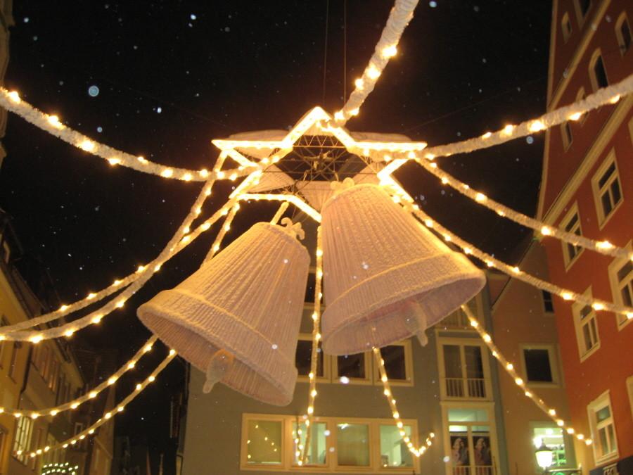 Weihnachtsdekoration in Memmingen