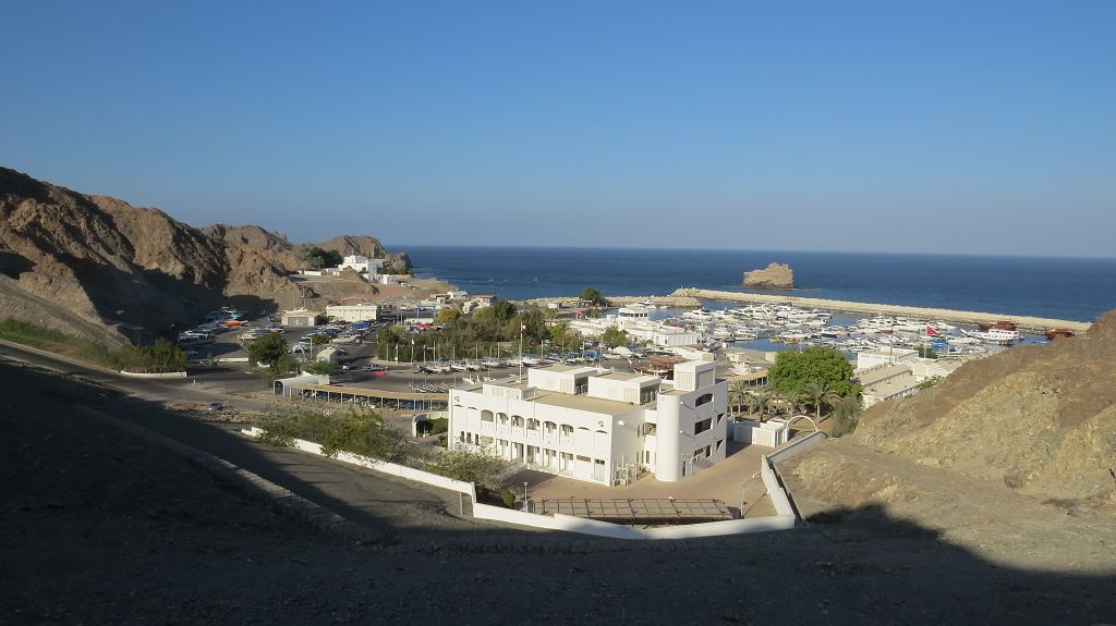 Marina Bandar, der Yachthafen von Muscat