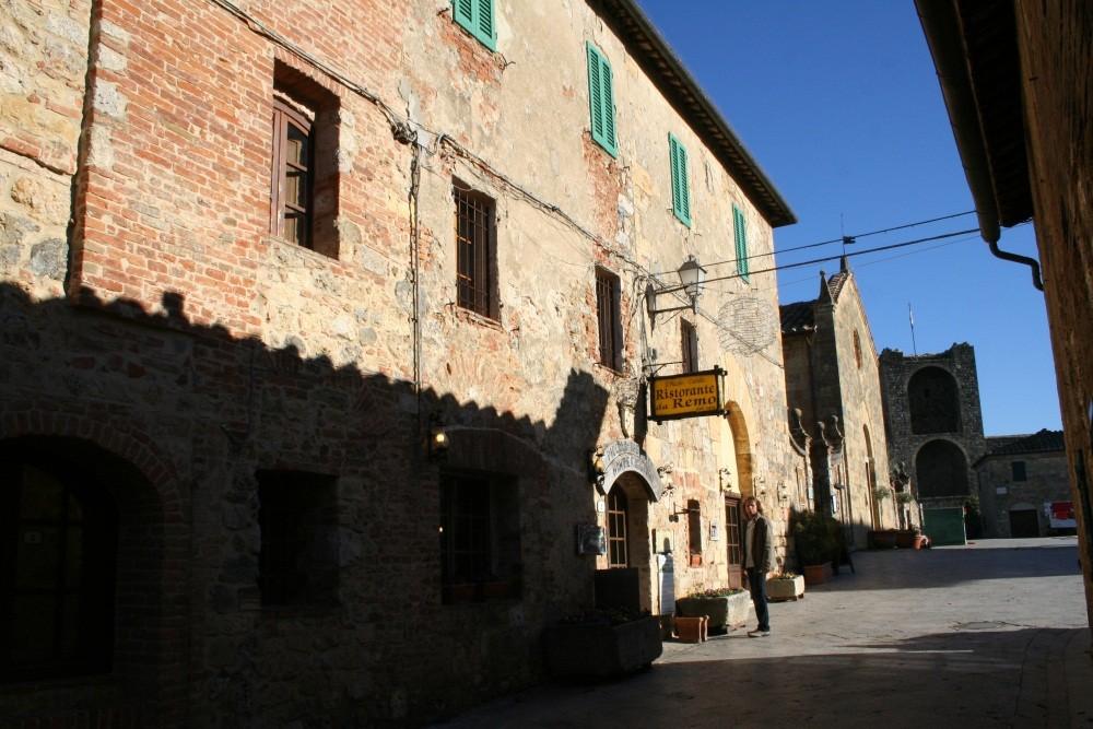 Spaziergang durch Monteriggioni