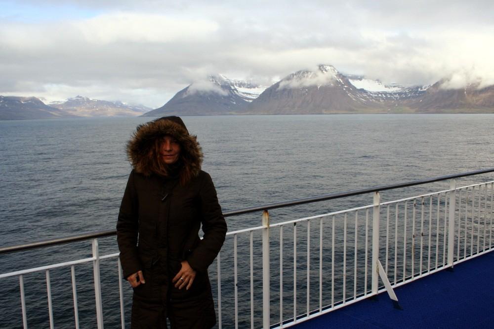 Land in Sicht!  Island ist erreicht.
