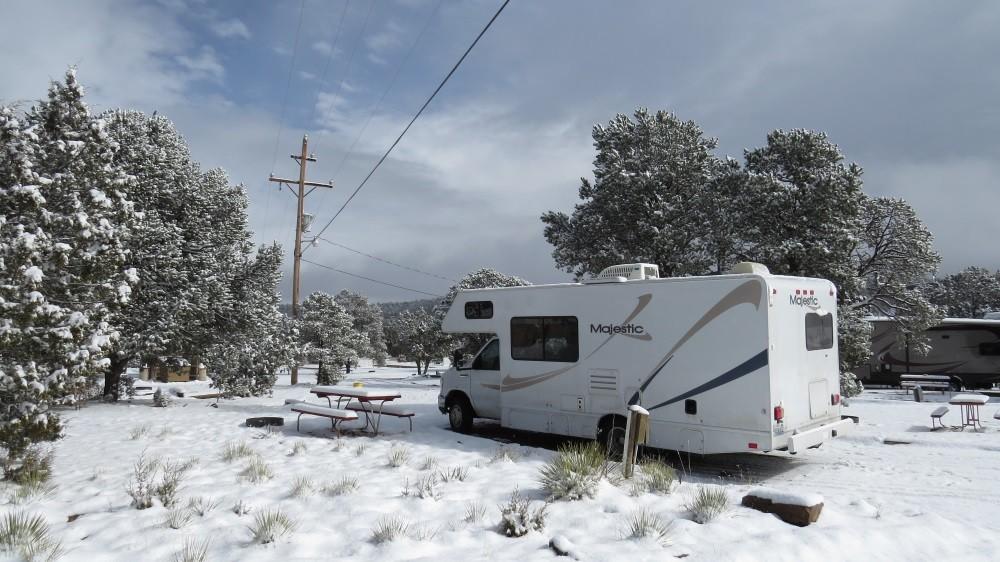 Zwischenstopp in Las Vegas, New Mexico