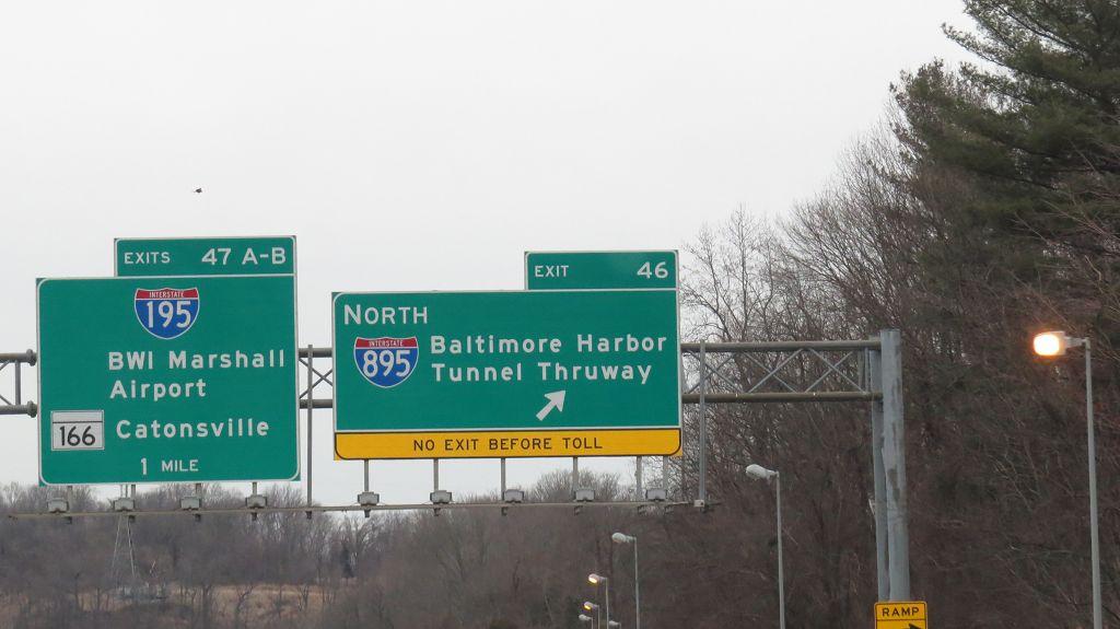 Wir erreichen Baltimore
