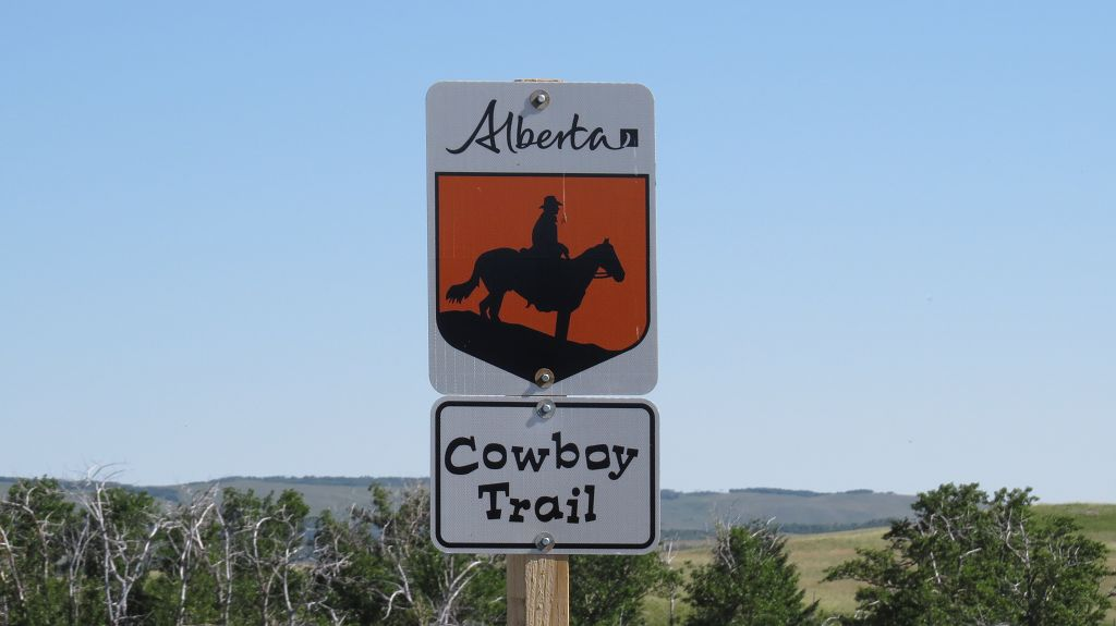 Auf dem.......nach Calgary