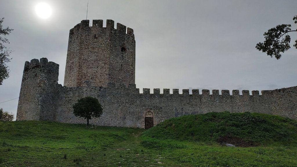 ...Festung Platamonas.