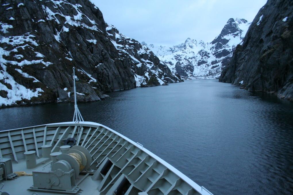 Abstecher in den Trollfjord
