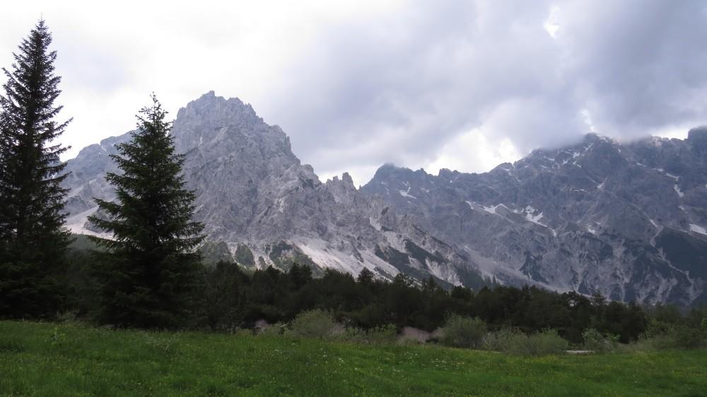 ...über 700 m bergauf UND 700 m bergab.