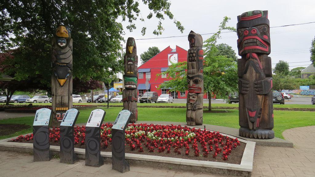 Totem Poles in Duncan