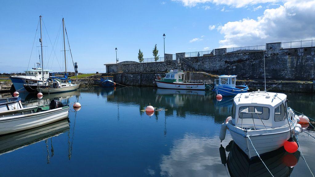 Drehort Carnlough Harbour