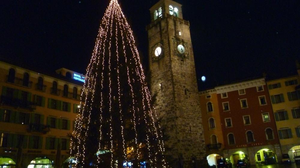 Erster Abend in Riva del Garda